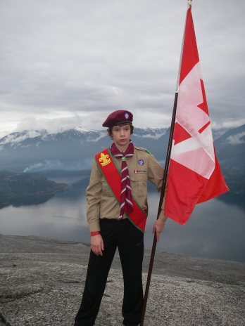 Welcome to Scouts, Conner!