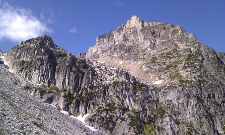 Friday: Our objective today is Eastpost Spire (8,950 ft./2,728 m).