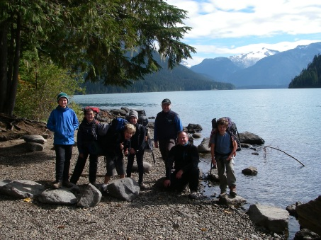 We're all packed up and ready to head home. In two weeks we'll be heading up the Stawamus Chief for our annual Investiture Ceremony for our new Scouts. In three weeks we'll be heading up into Garibaldi Park to bag Black Tusk and maybe take a little stroll on Helm Glacier.
