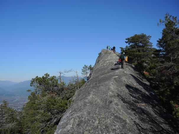 Finally, we ascend the last ridge up to the summit!