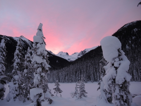 Sunday morning sunrise over the mountains of Joffre Lakes Provincial Park. Our four new winter campers all survived with style! I'm very proud of these young guys. We'll be back to the Joff' real soon!