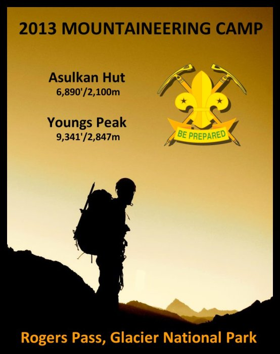 2013 Mountaineering Camp v3