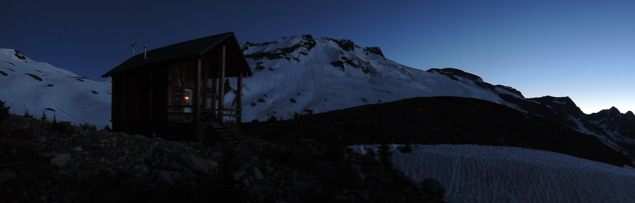 Good night from Rogers Pass!