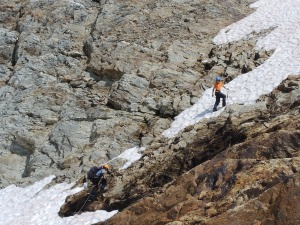 """Don't let anyone tell you that mountaineering is """"child's play"""". These 11 and 12 year-old Scouts know better than that!"""