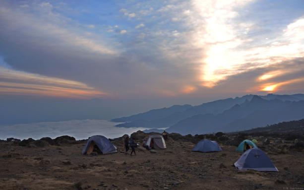 Shira Camp (12,000')